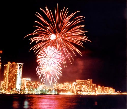 new years in hawaii fireworks hawaii pinterest hawaii