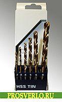 Набор сверл ø 2, 3, 4, 5, 6, 8 мм, 6 шт. 1432653  #оснастка #стройка #сверла #буры #фрезы #коронки #ремонт #диски #бетону #металлу #заказ #дереву #мрамору #Black&Decker #эксклюзив #Hawera #Россия #Wolfcraft #подарок #Bosch #prosverlo.ru #дешево #скидки #купить