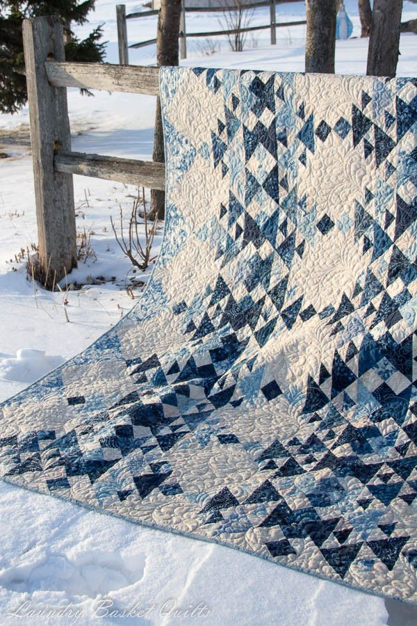 Cold Spell by Laundry Basket Quilts