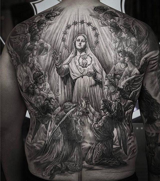 Backpiece by artist @stefanoalcantara who will be attending the @goldenstatetattooexpo on January 27-29th at the Pasadena Convention Center. Presented by @inkedmag - Featuring some of the best artists from around the world. Don't miss it! ONLY A FEW BOOTHS ARE LEFT. SEND EMAIL ASAP TO GOLDENSTATETATTOOEXPO@GMAIL BEFORE THEY'RE GONE!!!! #inkedmag #inkedmagazine #goldenstatetattooexpo #theinkedlife #inksav #art_motive #worldofpencils #worldwide #official #sponsor . .