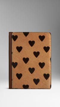 Heart Print Calfskin iPad Mini Case on shopstyle.com