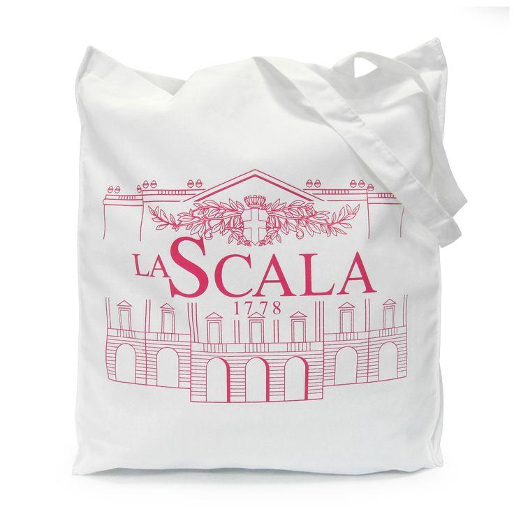 #LaScala cotton #shoppingbag #madeinsadesign