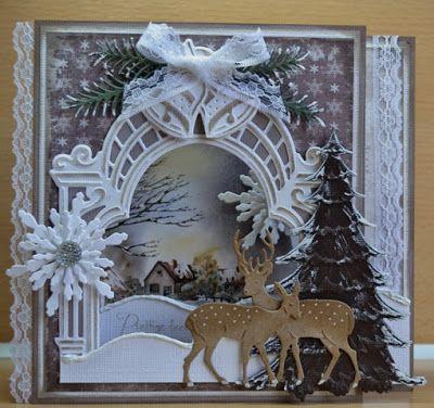 Astrids Kaarten, Marianne Design, Christmas card