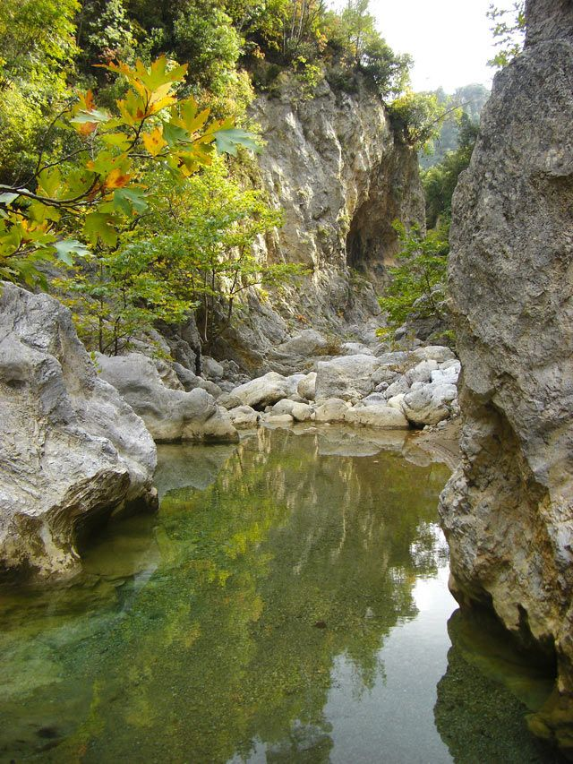 GREECE Nileas / Ayia Anna Gorge, North Evoia