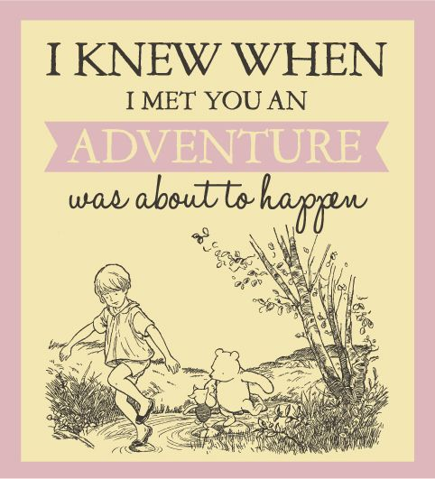 A new adventure on the way! #WinniethePooh