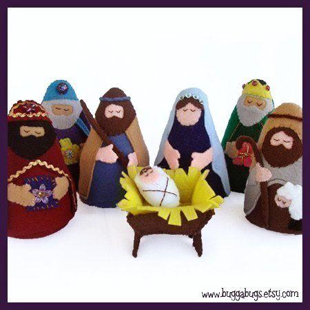 NATIVITY PDF Doll Pattern Joseph Mary Jesus Wise Men