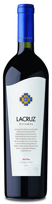 Estampa LaCruz 2009. Purple-hued with leafy, tobacco aromas, coffee and vanilla. On the palate cherry, blackcurrant and blueberry, concentrated, with considerable complexity. Tannins are fine and silky with long length: elegance, complexity and sheer deliciousness.