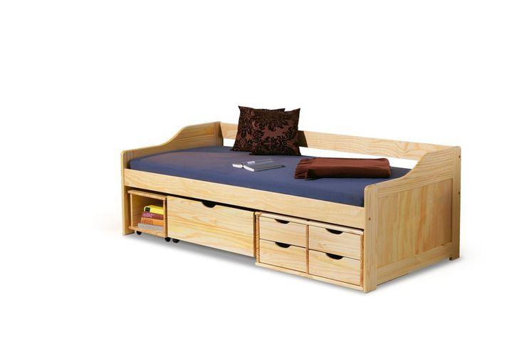 Maxima łóżko sosnowe dla dzieci 90x200