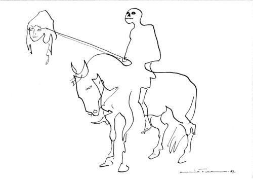 Henrik Tikkanen, Kuolema ratsastaa