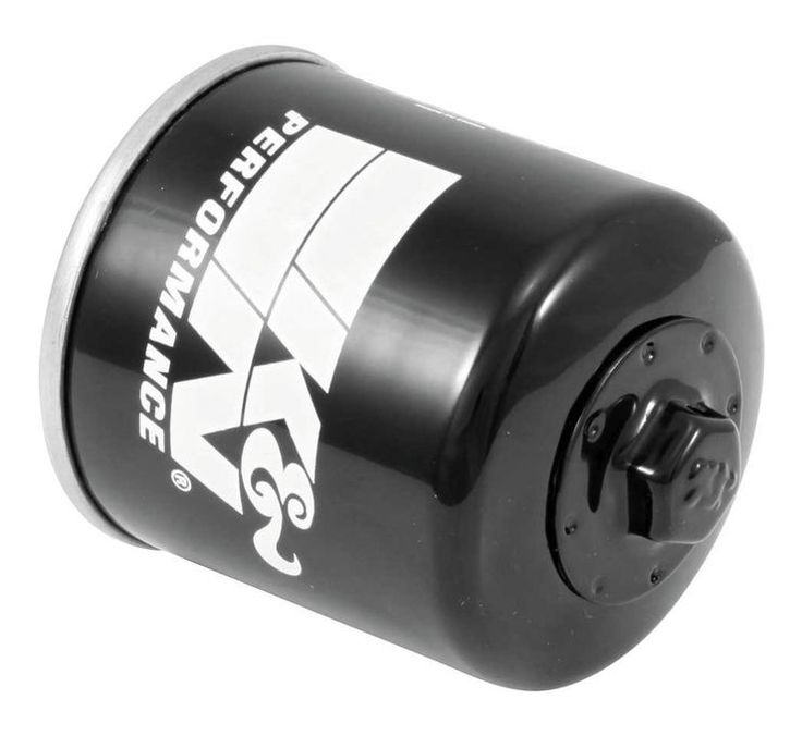 K&N Performance Black/Gold Oil Filters for Street