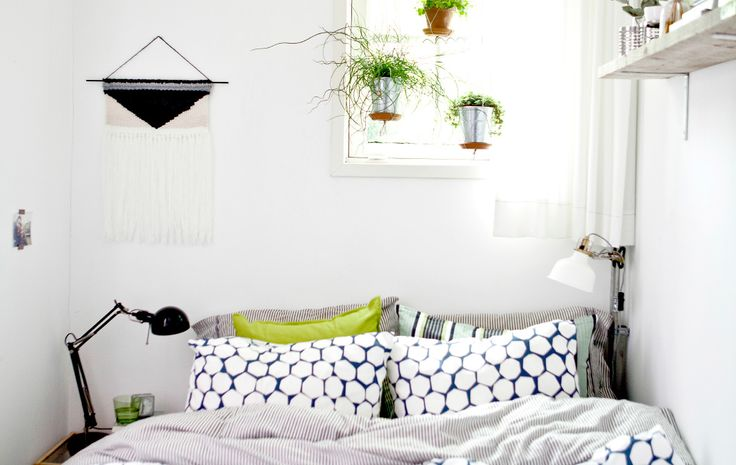 A feel-good bedroom sanctuary Sep 01 2015 Even a tiny bedroom can be a place of calm. By adding natural and practical elements to her walls and window, Marloes has made her bedroom in the Netherlands into an ordered, tranquil space where she can recharge. Try these three ideas from her bedroom.