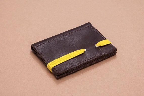In pelle uomo portafoglio Mens portafoglio portafoglio di Gazur