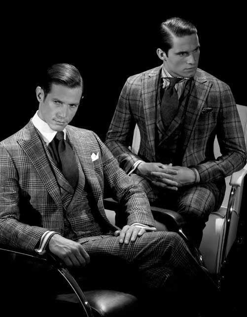 Frisuren der 1920er Jahre für Männer – noble Schnitte mit ...