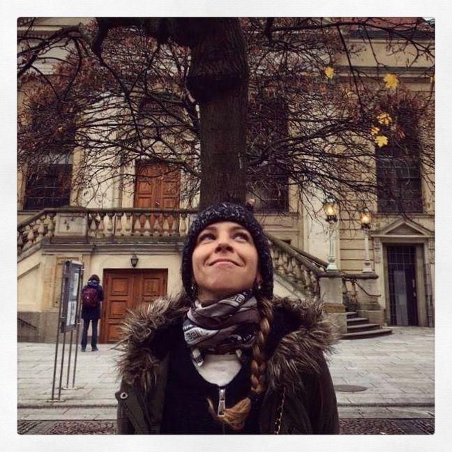 """Trojan Horse"" silk scarf by Grecian Chic in Berlin!"