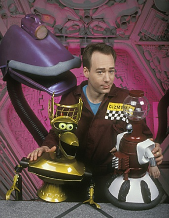 Mystery Science Theater 3000. (MST3k to those of us in the know.) I kinds had a crush on Tom Servo