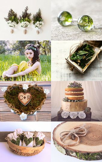Woodland wedding ideas by Marzena on Etsy--Pinned with TreasuryPin.com