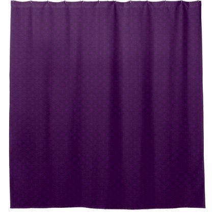 Dark Purple Flat Patterned Popular Shower Curtains - shower gifts diy customize creative