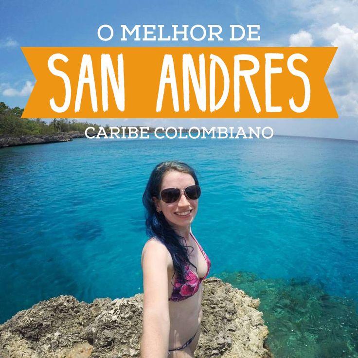 San Andres foi um dos lugares mais bonitos que conheci! Mar turquesa, praias…