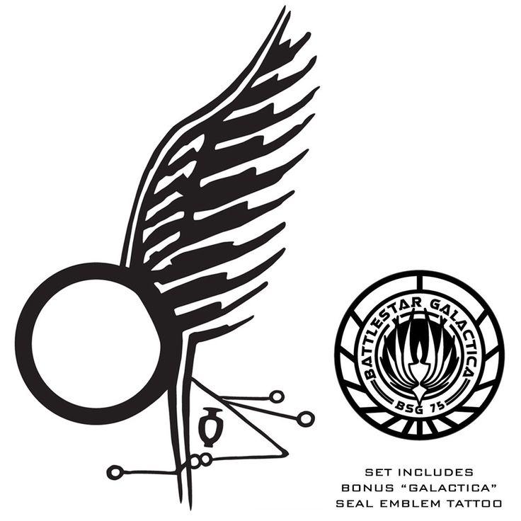 97 best tattoo love images on pinterest tattoo ideas for Battlestar galactica tattoo