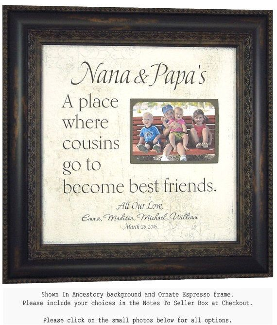 18 best Grandparents Gift images on Pinterest | Grandparent gifts ...