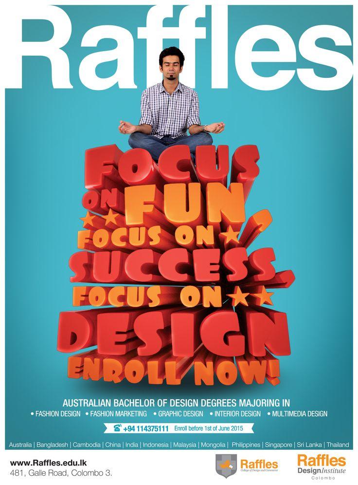 Get A World Renowned Australian Bachelor Of Design Degrees Raffles Enroll For The