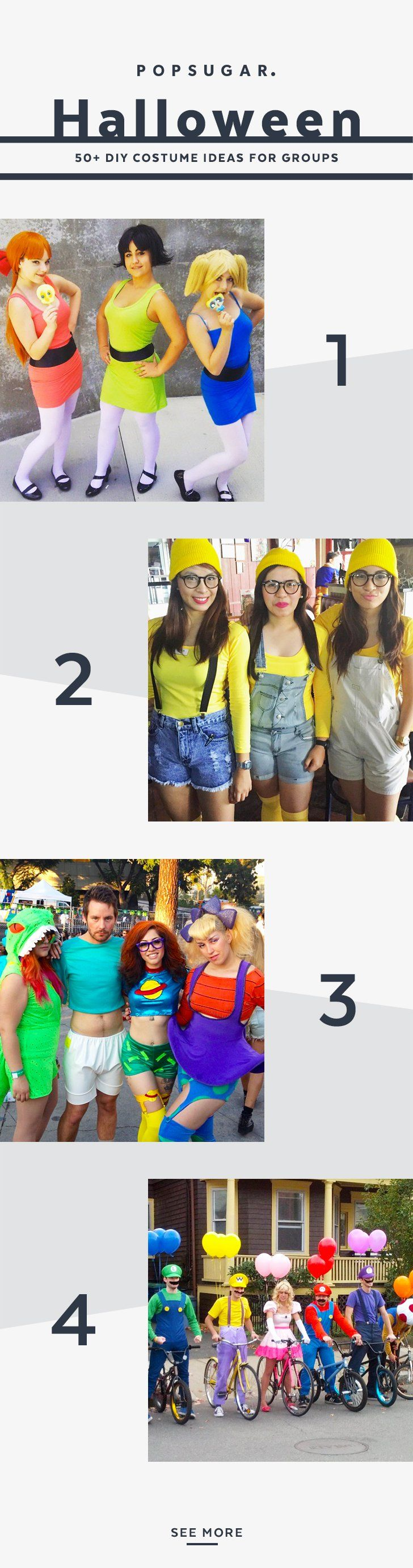 Pin for Later: 59 Creative Homemade Group Costume Ideas