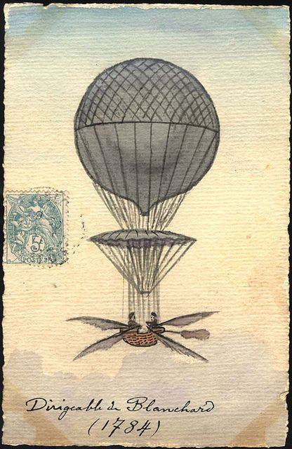 May 23, 1784 Jean-Pierre-Francois Blanchard made his first balloon flight from the Champ-de-Mars in Rouen. Nine years later, Blanchard made his first balloon flight in America ascending from Philadelphia's Independence Hall, just blocks away from the Chemical Heritage Foundation.