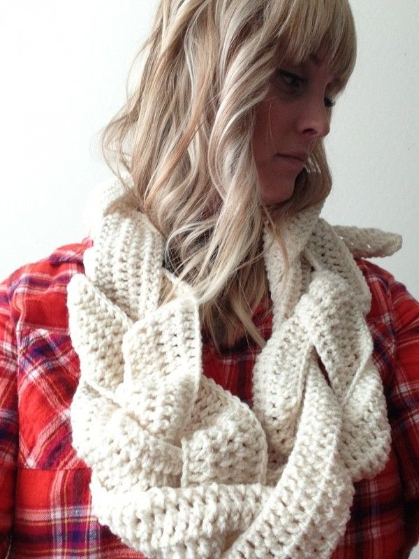 10 Examples of Crochet Scarves From Pinterest craft make ...