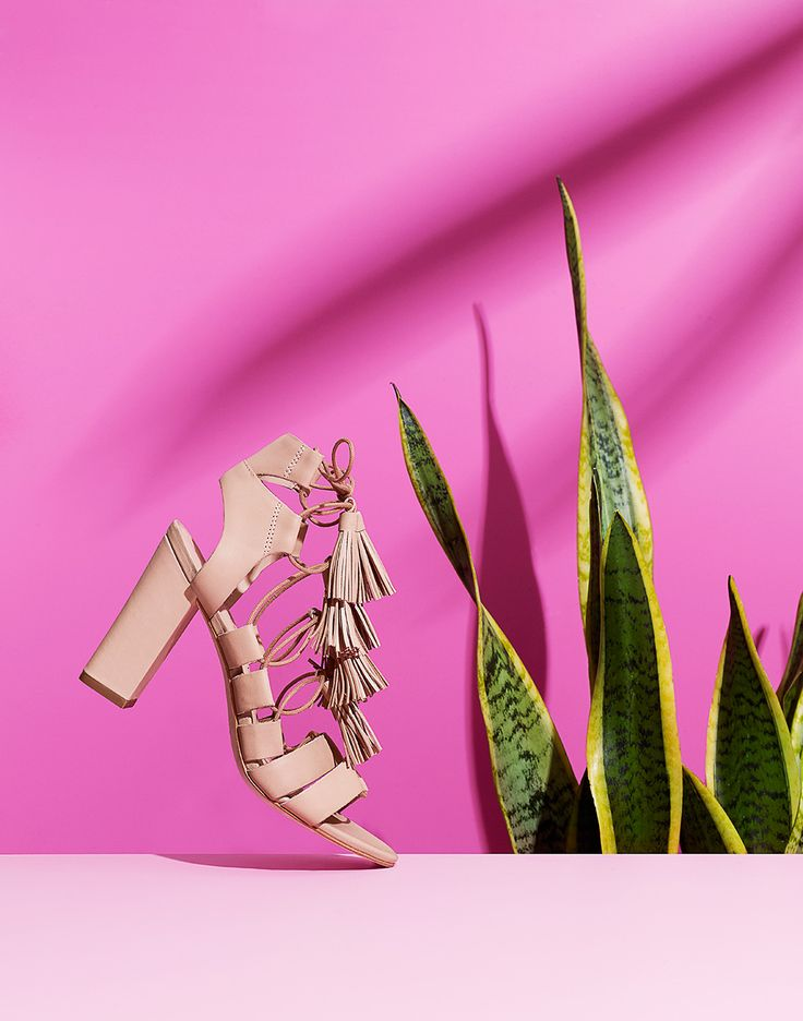 Loeffler Randall's latest collection has a tickled pink!