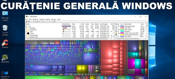 Curățenie generala cu WinDirStat și Ccleaner, ștergere hiberfil.sys Cum faci curățenie pe Windows, cum ștergi cache pe WIndows, cum se eliberează spațiu pe windows, cum se sterg fisierele, poxele si video duplicate pe Windows - Curățenie eliberare spațiu ștergere duplicate WINDOWS #videotutorial #Windows