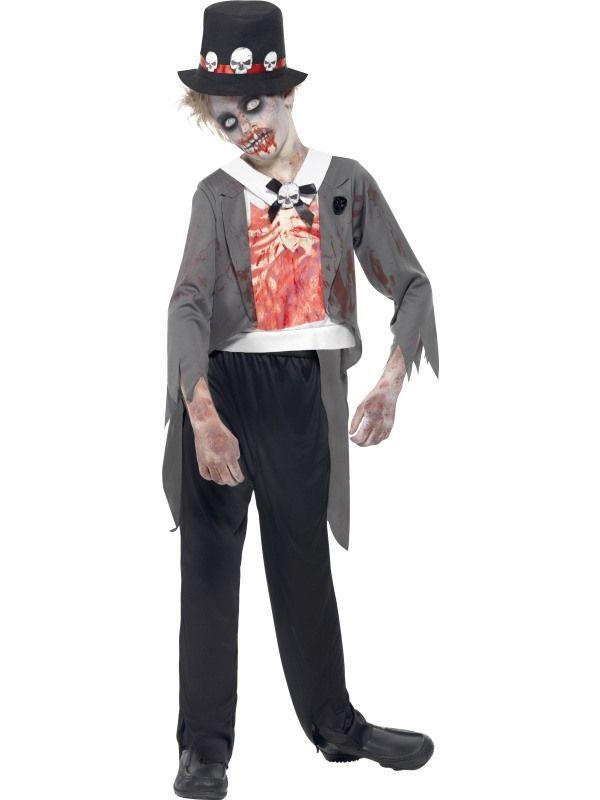 Costume enfant : le groom zombie