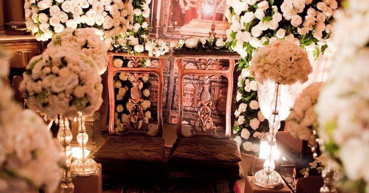 Decoração do altar po Márcio Barbuy
