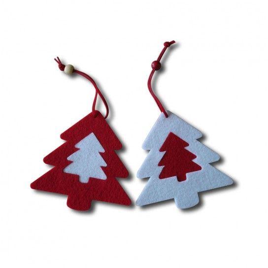 Albero di Natale addobbi fai da te