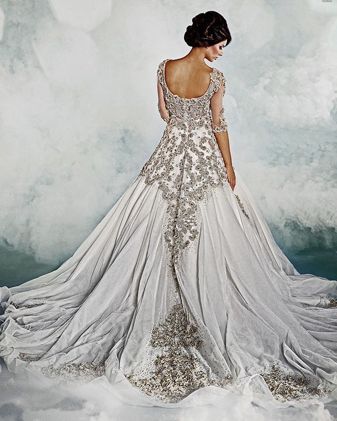 Wedding Gowns With Swarovski Crystals: Dar Sara Wedding Dresses 2014 Collection