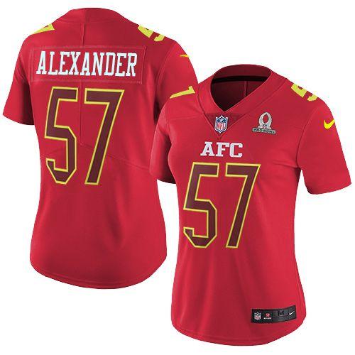 Nike Chiefs #57 D.J. Alexander Red Women's Stitched NFL Limited AFC 2017 Pro Bowl Jersey And #nfl jersey online shop legit
