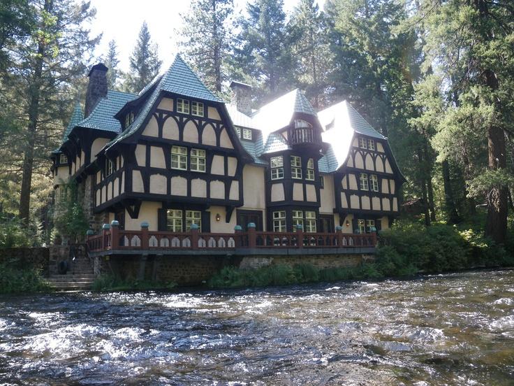Riverside guest house at Wyntoon, Randolph Hearst's summer