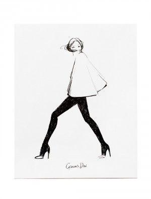Garance Dore´ Cape Poster