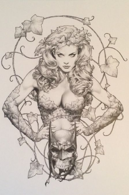 Poison Ivy by Jay Anacleto
