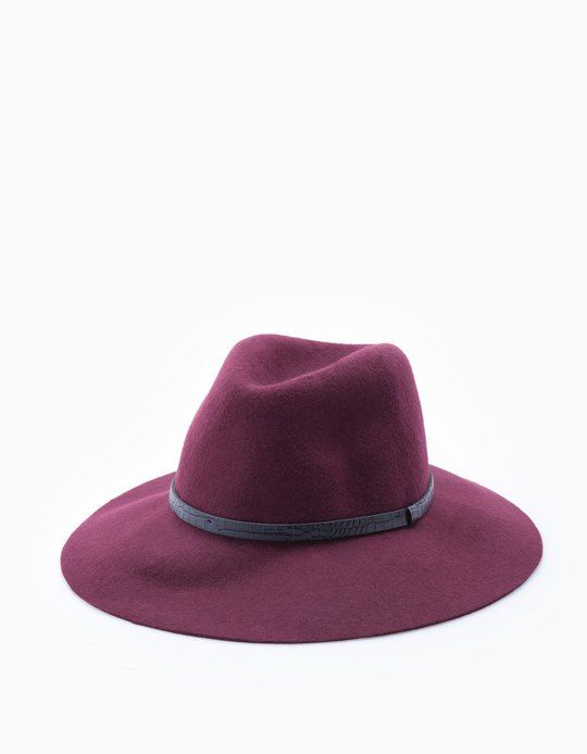 En Stradivarius encontrarás 1 Sombrero fedora lana para mujer por sólo 3.99 € . Entra ahora y descúbrelo junto con más GORROS Y SOMBREROS.