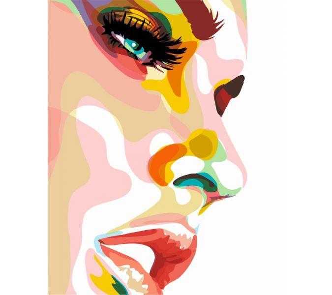 "Раскраска по номерам Артвентура ""Мелани Лоран"" | купить в Лавке Рукоделия москва"