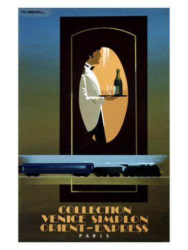 Vintage Travel Poster - Orient Express
