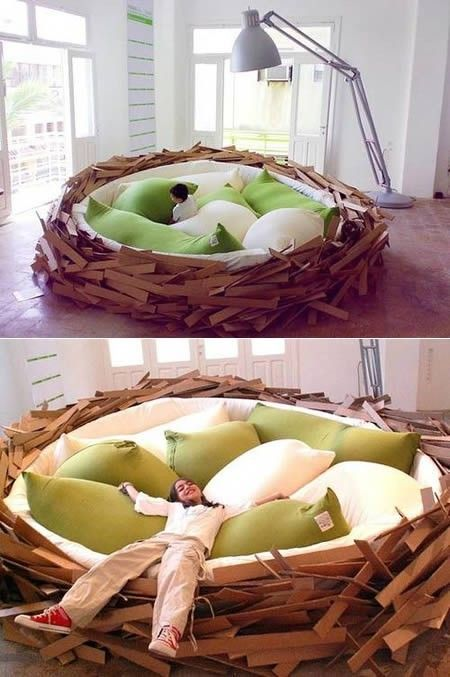 Nest Bed #bed @Al_Hotel