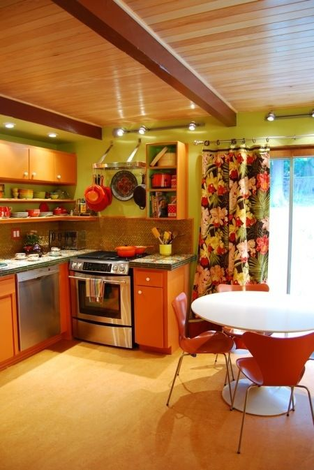 A Complete Colorful Kitchen Renovation...On A Budget