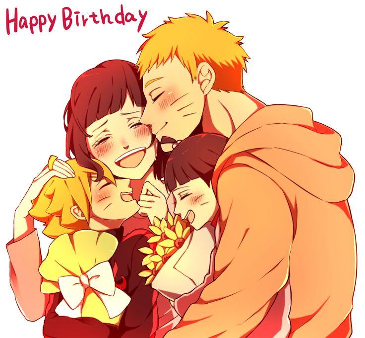 Uzumaki family, Boruto, Naruto, Hinata, Himawari