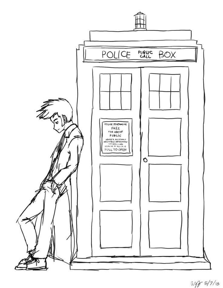 tardis coloring page - 17 best images about color pages on pinterest dovers