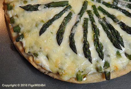 Asparagus and Meyer Lemon Ricotta Pizza | travis | Pinterest