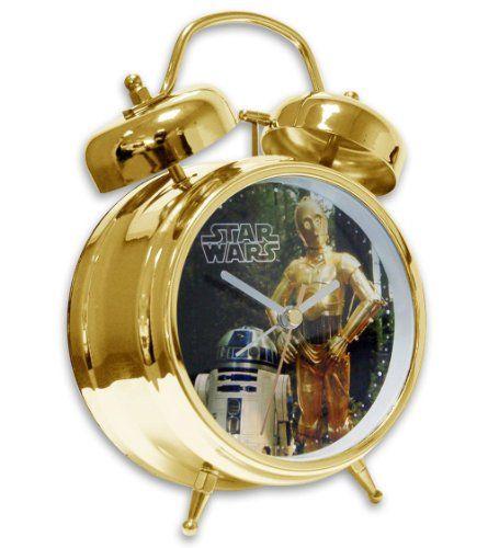 Star Wars Alarm Clock R2-D2 and C-3PO @ niftywarehouse.com #NiftyWarehouse #Geek #Products #StarWars #Movies #Film