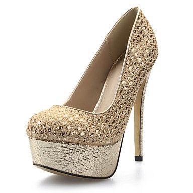 παπούτσια πλατφόρμα τακούνι στιλέτο γυναικών αντλιών παπούτσια διαθέσιμα περισσότερα χρώματα – EUR € 34.99