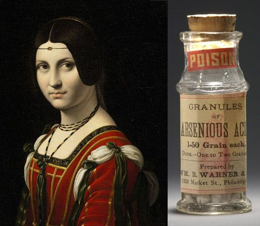 GIULIA TOFANA: 17th century Italian pioneering feminist and retailer of bespoke poisons. She sold her lethal invention, aqua tofana, largely to ladies who wished to be rid of their husbands. It became a family business with her daughter also involved in the trade. They were allegedly responsible for 600 deaths, mainly of married men. Despite her popularity with the general public Signora Tofana was denounced and executed by the Papal authorities in 1659.