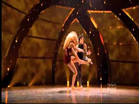This original routine was performed by Kayla and Kupono, but Cole and Lindsay do an amazing job!